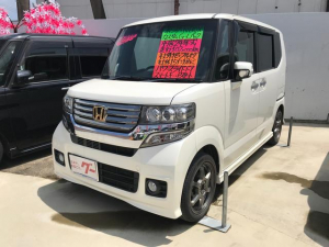 ホンダ N-BOXカスタム G・Lパッケージ 社外ナビ フルセグTV 15インチAW