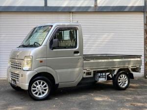 スズキ キャリイトラック KU 5速マニュアル 社外アルミ パワステ  三方開 積載量350kg