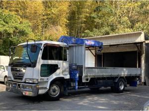 日産ディーゼル コンドル  ユニック タダノ3段クレーン ETC 三方開 最大積載量2650kg
