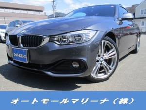 BMW 4シリーズ 435iクーペ スポーツ ワンオーナー レザー ナビ テレビ