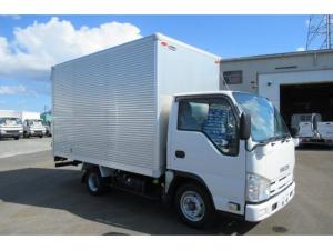 いすゞ エルフトラック フラットロー 1.5トン積み アルミバン