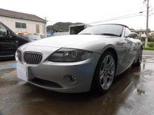 BMW Z4 3.0i 電動オープン 黒革 シートヒーター ETC ナビ