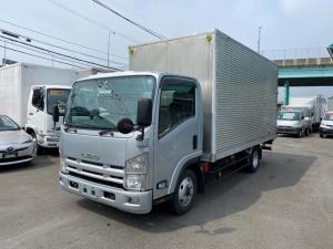 いすゞ エルフトラック  1.55トンワイドロングアルミバン オートマ 総重量5トン以下