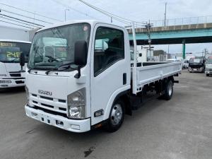 いすゞ エルフトラック ロング 2トン平ボディ オートマ ローン・リース月々36200円よりございます。