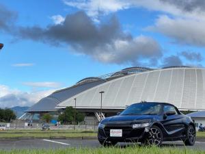 ホンダ S660 α ワンオーナー バックモニター シートヒーター 15インチAW プッシュスタート 6速MT
