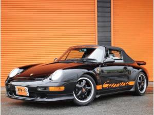 ポルシェ 911 911カレラ カブリオレティプトロ正規D車黒革S電動OP