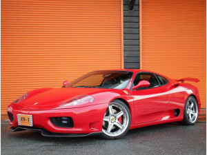 フェラーリ 360 モデナ純正6速TベルXX外マフラー19AWチャレグリ付