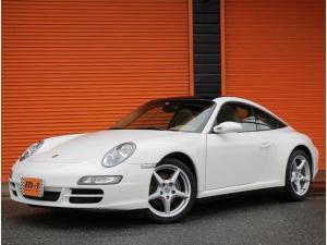 ポルシェ 911 911タルガ4ティプトロニックS4WD左H正規D車茶本革S