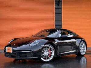 ポルシェ 911 911カレラS スポクロPKGスポーツEX正規D車黒本革S