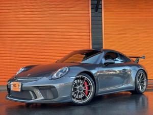 ポルシェ 911 911GT3 スポーツクロノパッケージ 正規D車・スポーツエキゾースト・Fリフター・GT3専用センターロック20AW・18Wayスポーツシート・PDLSフルLEDライト・カーボンインテリアPKG