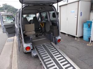 日産 クリッパーバン GL 福祉車両 車イス移動車 AUTECH AT車 キーレス Wエアバック タイミングベルト&ウオーターポンプ交換済み