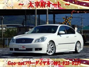 日産 フーガ 350XV 革シート ETC DVDナビ スマートキー