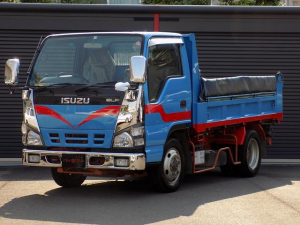 いすゞ エルフトラック ダンプ 4WD 2t 5速MT 1オーナー 極東開発