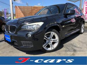 BMW X1 sDrive 18i Mスポーツパッケージ /HDDサイバーナビ フルセグTV バックカメラ キセノンライト スマートキー プッシュスタート ミラーETC