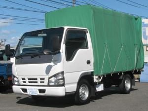 いすゞ エルフトラック 1t積 幌付 3.1ディーゼルエンジン フロア5速MT