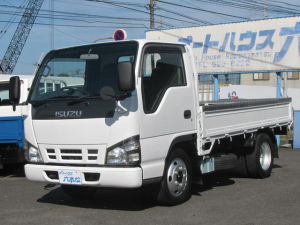 いすゞ エルフトラック 全低床2t 平ボデー 4.8ディーゼル スムーサー5速MT