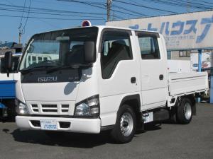 いすゞ エルフトラック Wキャブ低床1.15t 3.1ディーゼル
