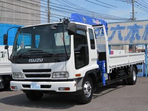 いすゞ フォワード タダノ4段クレーン ラジコン フックイン