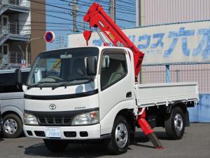 トヨタ ダイナトラック  1.85t積 ユニック4段簡易クレーン 4.0ディ―ゼル フロア5速MT