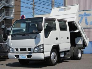 マツダ タイタントラック  Wキャブ全低床2tダンプ 4.8ディ―ゼル スムーサー5速MT