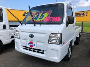 スバル サンバートラック ワンオーナー エアコン パワステ 内外装仕上げ済み 三方開