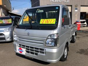 スズキ キャリイトラック KCエアコン・パワステ 4WD 5速MT 荷台プロテクター