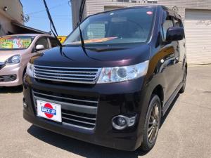 スズキ ワゴンRスティングレー X ナビ テレビ ETC 社外アルミ タイヤ新品 オートAC