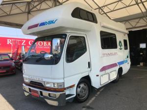 三菱ふそう キャンター キャンピングカー広島製 トラベラーアスク 4.6DX AT車