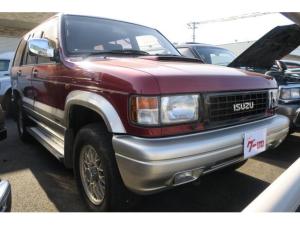 いすゞ ビッグホーン ハンドリングバイロータスSE ロング デフロック付き4WD 純正16AW 背面タイヤ CD サンルーフ