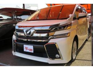トヨタ ヴェルファイア 2.5Z 両側電動スライドドア 9インチナビ フリップダウンモニター フルセグ 純正18AW スマートキー