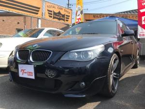 BMW 5シリーズ 530iツーリング Mスポーツパッケージ 純正ナビ 革シート  DVD クルコン サンルーフ HID