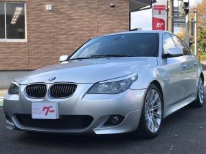 BMW 5シリーズ 525i Mスポーツパッケージ 純正ナビ ETC AW DVD 黒革パワーシート  シートヒーター