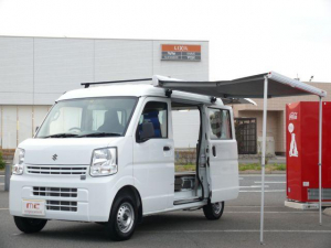 スズキ エブリイ キャンピングカー 走行充電 外部充電 4人乗