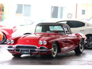 シボレーコルベット C1 61モデル レストア車 AT 左ハンドル 赤革 車高調