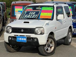 スズキ ジムニー XC 8型AT 4WD メモリーナビ TV  Tチェーン式 8型 AT 4WD メモリーナビ タイミングチェーン式 ETC キーレス 電格ドアミラー TV 純正アルミホイール ターボ車 フォグライト パワーウインドウ パワステ 両席エアバック エアコン
