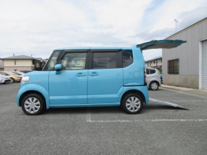 ホンダ N-BOX+ G・Lパッケージ 2年保証 福祉車両 スローパータイプ スマートキー 電動スライドドア