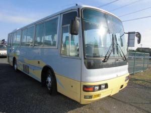 三菱ふそう 47人乗り エアロミディ 中型バス 送迎バス 自動ドア