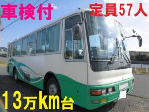 三菱ふそう 57人乗り エアロミディ 中型バス 送迎バス 自動ドア