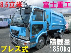 日産ディーゼル コンドル 4t パッカー車 プレス式 押出式 塵芥車 8.5立米