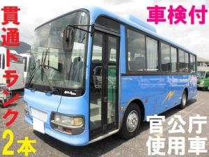 いすゞ 42人乗り 中型バス 貫通トランク 自動ドア リクライニング 9M未満 モケリク