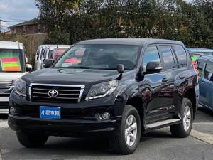 トヨタ ランドクルーザープラド TX Lパッケージ 4WD 黒本革シート ナビ フルセグTV