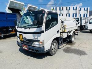トヨタ ダイナトラック  タンクローリー 2層2KL 消防書類付 ピストル/メーター付 流量計付 外装仕上中