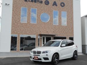 BMW X3 xDrive 28i Mスポーツパッージ  4WD 純正ナビ