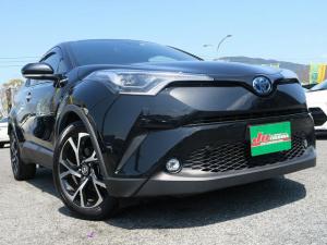 トヨタ C-HR HV-Gモードブルーノ1オーナー地デジナビBカメラレザー禁煙