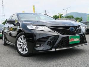 トヨタ カムリ WS1オーナーSDナビ黒ハーフレザードラレコセーフティS禁煙