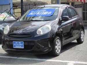日産 マーチ 12X 社外CDデッキ 電動格納式ドアミラー ヘッドライトレベライザー ダブルエアバッグ ABS