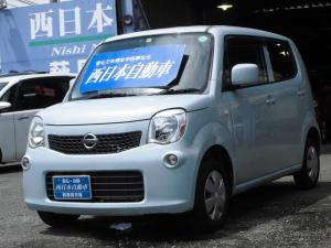 日産 モコ S Bluetooth エアコン 社外メモリーナビ フルセグTV DVDビデオ再生 ベンチシート ETC 電動格納ドアミラー ABS