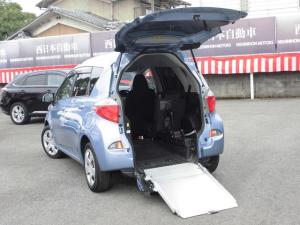 トヨタ ラクティス G 車高調整 後退防止 純正SDナビ ワンセグTV ETC