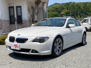 BMW 6シリーズ 650i ナビ レザーシート サンルーフ シートヒーター キーレス 19インチアルミホイール パワーシート