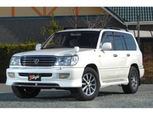 トヨタ ランドクルーザー100 VXリミテッド 4WD キャンピング登録 全塗装 新品アルミ